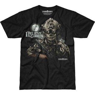 Pánské tričko 7.62 Design® I Believe In Ghosts - černé