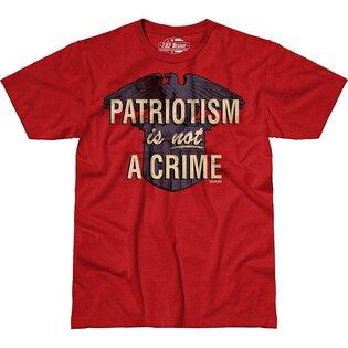 Pánské tričko 7.62 Design® Patriotism is not a Crime - červené