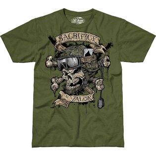 Pánské tričko 7.62 Design® Sacrifice & Valor - zelené