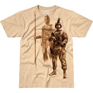 Pánské tričko 7.62 Design® Spirit of a Warrior - khaki