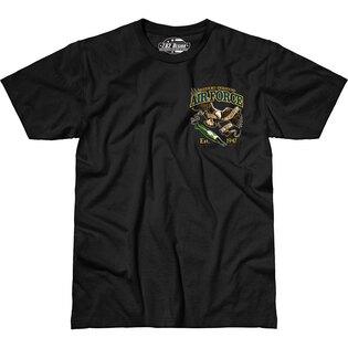 Pánské tričko 7.62 Design® US Air Force Fighting Eagle - černé