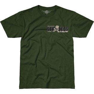 Pánské tričko 7.62 Design® US Navy Seabees - zelené
