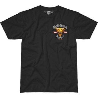 Pánské tričko 7.62 Design® USMC Devil Dog - Teufel Hunden - černé