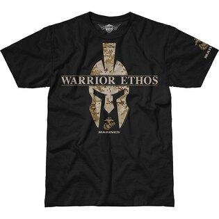 Pánske tričko 7.62 Design® USMC Warrior Ethos - čierne