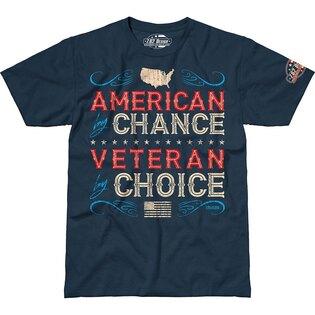 Pánské tričko 7.62 Design® Veteran By Choice - modré