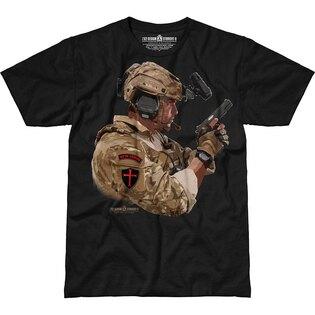 Pánske tričko 7.62 Design® We're Coming - čierne