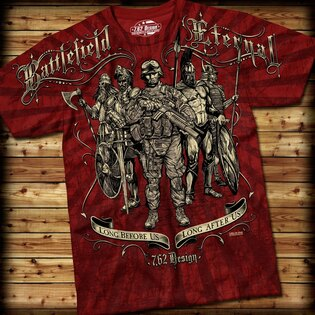Pánské tričko BATTLEFIELD ETERNAL 7.62 Design®
