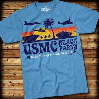 Pánské tričko BEACH PARTY 7.62 Design