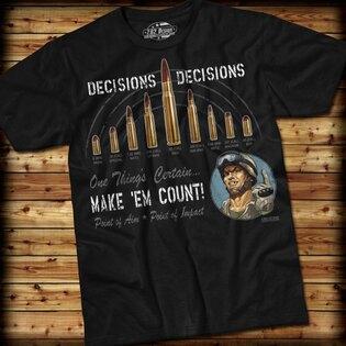 Pánske tričko DECISIONS 7.62 Design®