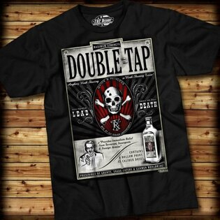 Pánske tričko DOUBLE TAP 7.62 Design® s krátkym rukávom