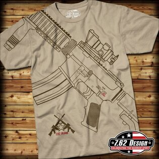 Pánske tričko GET SOME 7.62 Design®