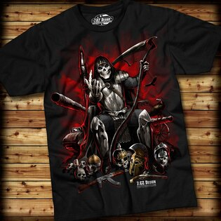 Pánske tričko WARLORD 7.62 Design® s krátkym rukávom