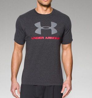 Pánske triko UNDER ARMOUR® Sportstyle - antracit
