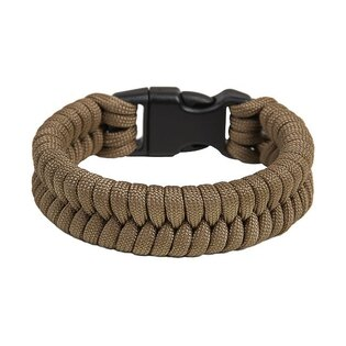 Paracord náramek - Coyote Brown