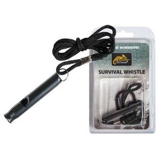 Píšťalka pre prežitie Helikon-Tex® - čierna