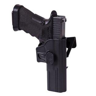 Pistolové MOLLE pouzdro s pojistkou Helikon-Tex® Glock 17 - černé