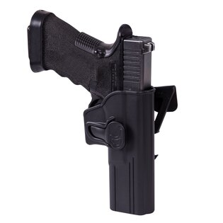 Pištoľové MOLLE puzdro s poistkou Helikon-Tex® Glock 17 - čierne
