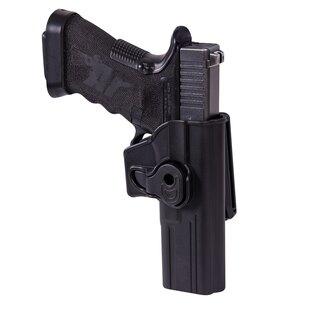 Pištoľové opaskové puzdro s poistkou Helikon-Tex® Glock 17 - čierne