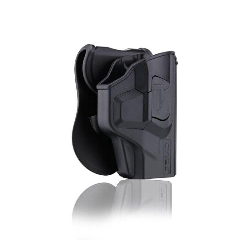 Pistolové pouzdro R-Defender Gen3 Cytac® Taurus T800 Compact - černé
