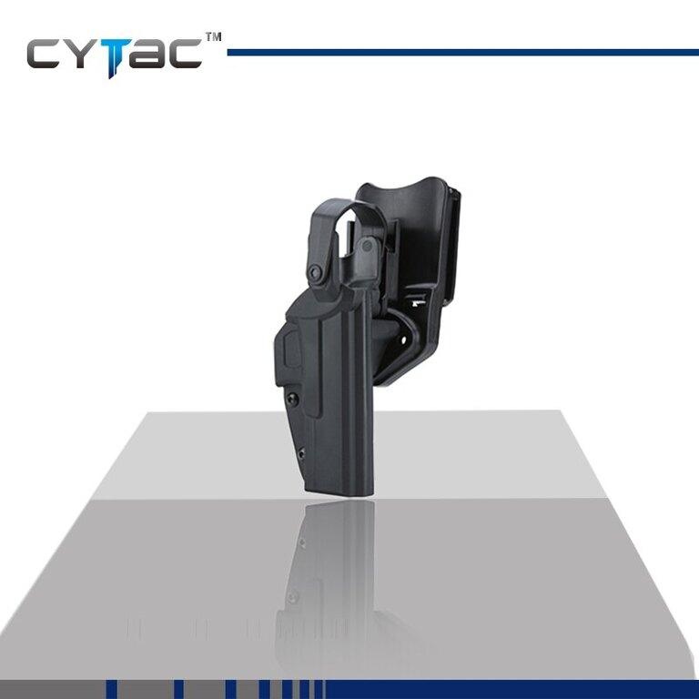 Pistolové pouzdro, služební Level III Cytac® Glock 17 - černé