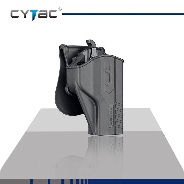 Pistolové pouzdro T-ThumbSmart Cytac® MP 9mm - černé