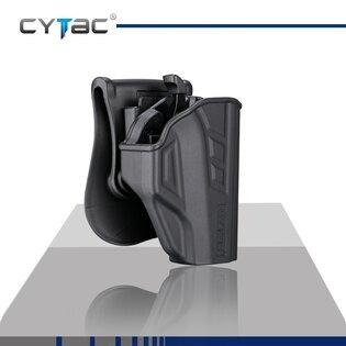 Pistolové pouzdro T-ThumbSmart Cytac® Taurus PT709 Slim + univerzální pouzdro na zásobník Cytac® - černé