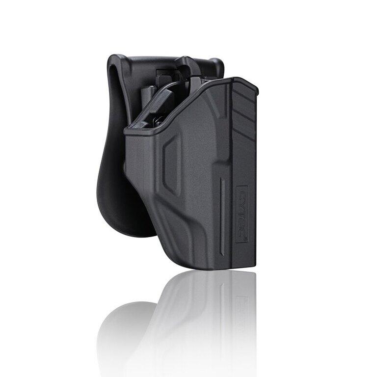 Pistolové pouzdro T-ThumbSmart + universální pouzdro na zásobník Cytac® Glock 42 - černé