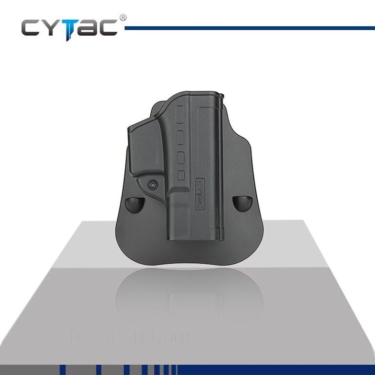 Pištoľové puzdro Fast Draw Cytac® Glock 19 - čierne