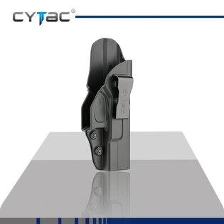Pištoľové puzdro pre skryté nosenie IWB Gen2 Cytac® Glock 19 - čierne
