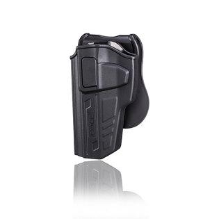 Pištoľové puzdro R-Defender Gen3 Cytac® Beretta 92 - čierne, pravá strana