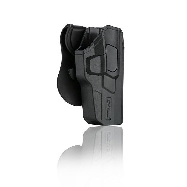 Pištoľové puzdro R-Defender Gen3 Cytac® Smith & Wesson Bodyguard .380 pre zbraň s integrovaným Crimson Trace laserom - čierne
