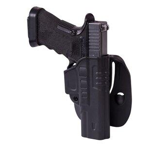 Pištoľové púzdro s pádlom Helikon-Tex® Glock 17 - čierne
