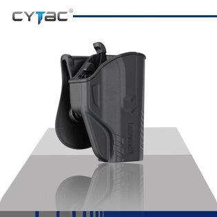 Pištoľové puzdro T-ThumbSmart Cytac® CZ P07 a CZ P09 + univerzálne puzdro na zásobník Cytac® - čierne