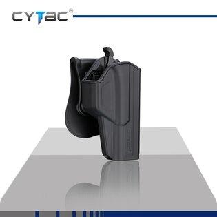 Pištoľové puzdro T-ThumbSmart Cytac® Glock 17 + univerzálne puzdro na zásobník Cytac® - čierne