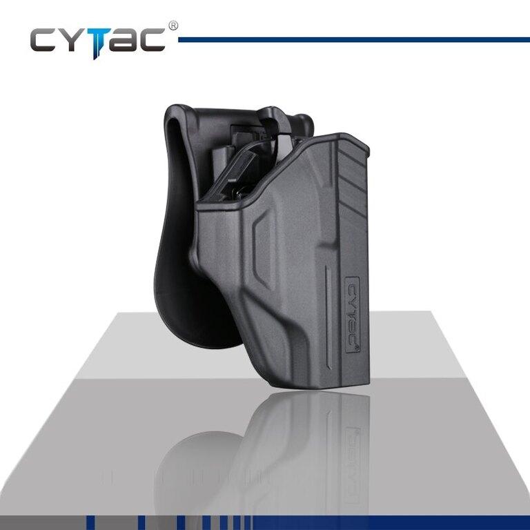 Pištoľové puzdro T-ThumbSmart Cytac® Glock 43 - čierne
