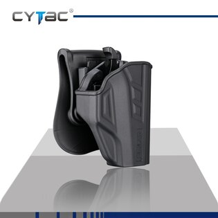 Pištoľové puzdro T-ThumbSmart Cytac® Taurus PT709 Slim + univerzálne puzdro na zásobník Cytac® - čierne