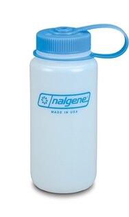 Poľná fľaša NALGENE® HDPE so širokým hrdlom 0,5 l - biela