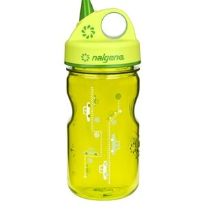 Polní lahev NALGENE® Everyday™ Grip´n´Gulp™ 350 ml - zelená-auta