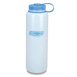 Polní lahev NALGENE® HDPE se širokým hrdlem 1,5 l - bílá