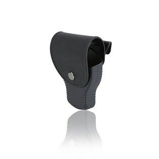 Pouzdro Cytac® na standardní pouta, vnitřní ⌀ 57,5 mm, vnější ⌀ 75,2 mm, s víkem - černé