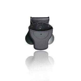 Pouzdro Cytac® na standardní pouta, vnitřní ⌀ 60 mm, vnější ⌀ 75,2 mm, bez víka - černé