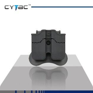 Pouzdro na pistolový zásobník dvojité Cytac® modely 1911 - černé