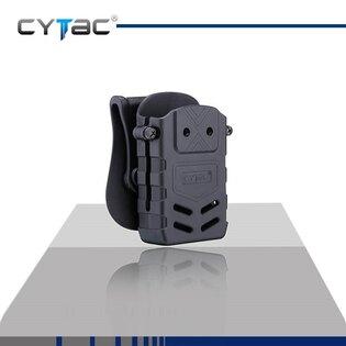 Pouzdro na zásobník Cytac® AR15, M4, M16 s klipem na opasek - černé