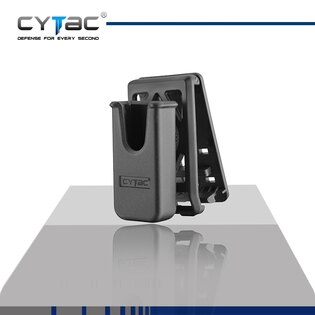 Pouzdro na zásobník universální s klipem na opasek Cytac® .22, .380, 9mm Makarov - černé