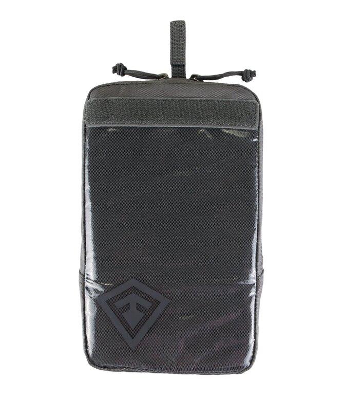 """Pouzdro Velcro 6x10"""" First Tactical® - šedé"""