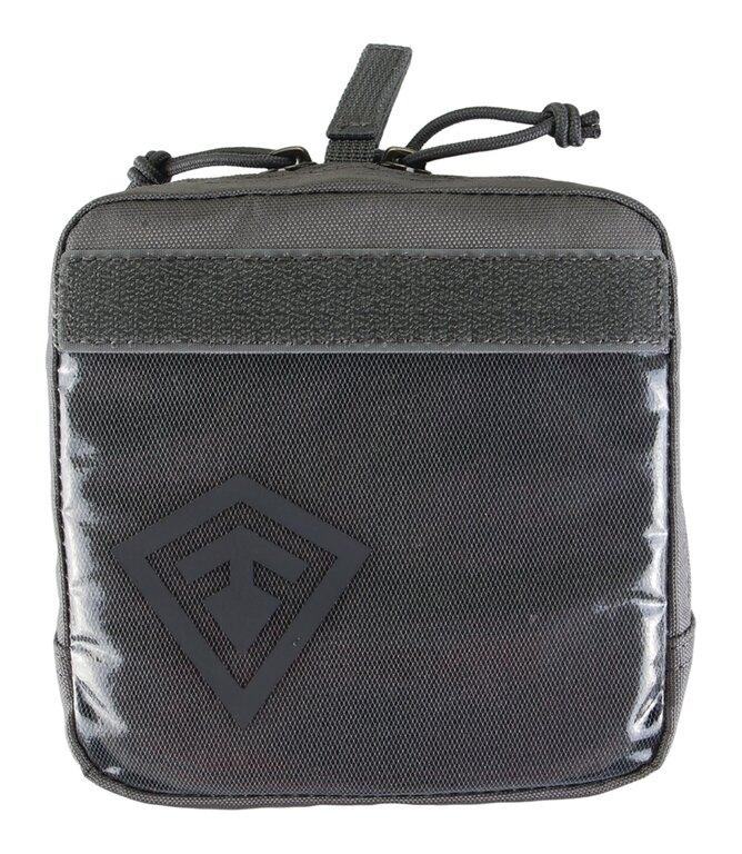 """Pouzdro Velcro 6x6"""" First Tactical® - šedé"""