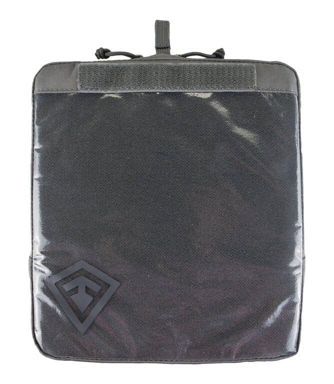 """Pouzdro Velcro 9x10"""" First Tactical® - šedé"""