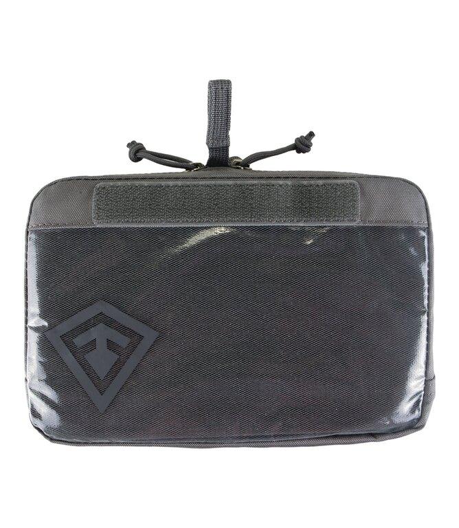 """Pouzdro Velcro 9x6"""" First Tactical® - šedé"""