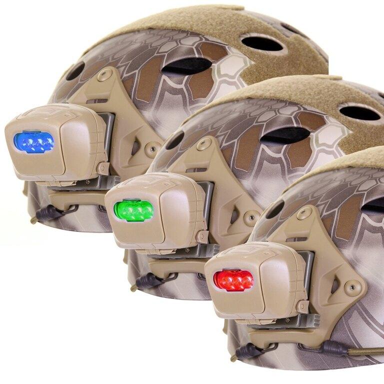 Přilbová svítilna 101INC® Head Light - písková