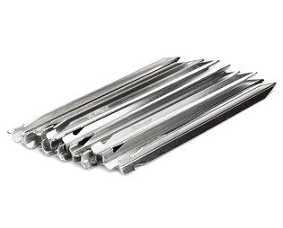 Sada kolíků ke stanu Snugpak® balení 6 ks - stříbrné